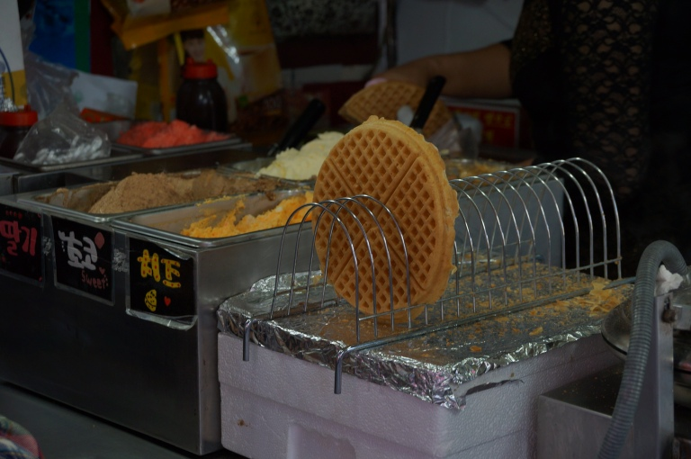 Waffle with Sweet Cream Filling